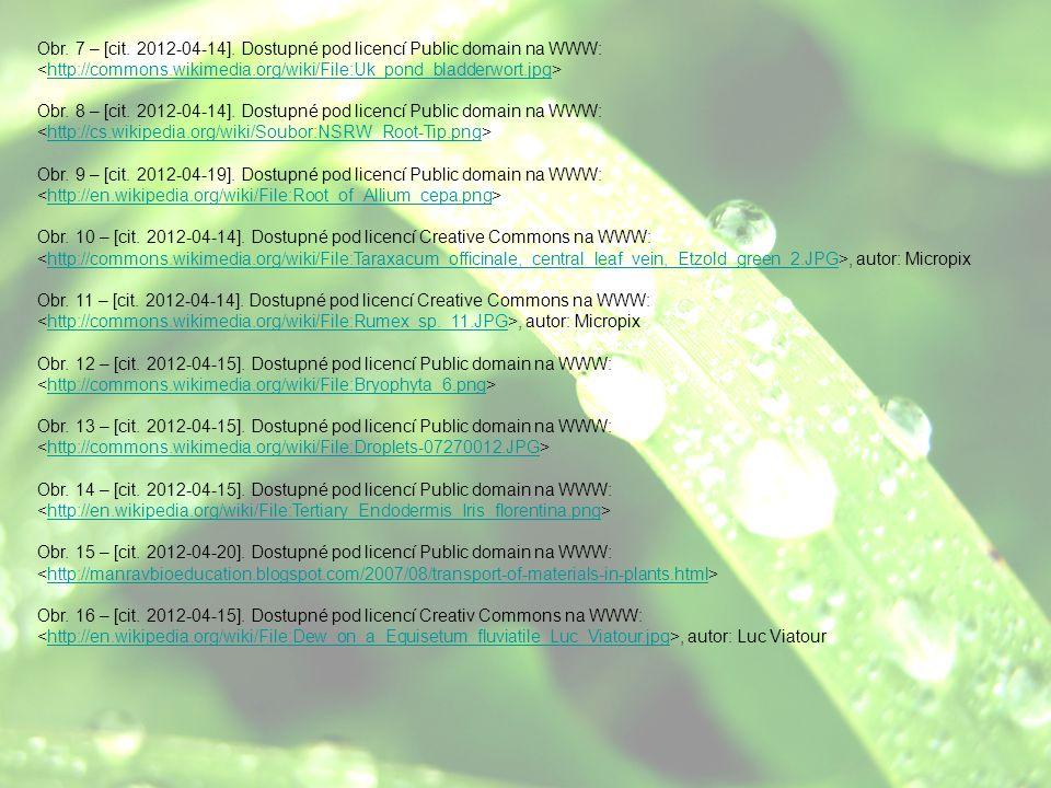Obr. 7 – [cit. 2012-04-14]. Dostupné pod licencí Public domain na WWW: